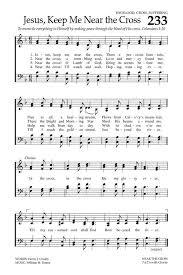 Baptist Hymnal 2008 233 Jesus Keep Me Near The Cross