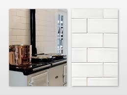 6 X 12 Beveled Subway Tile by Fresh White Subway Tiles Perth 5332