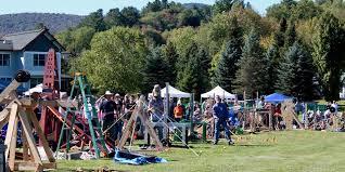 Pumpkin Chunkin Trebuchet World Record by Vermont Pumpkin Chuckin U0027 Festival 2017