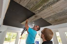 100 Wood On Ceilings How To Install A Reclaimed Ceiling Treatment Howtos DIY