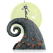 Nightmare Before Christmas Tree Toppers Bauble Set by Amazon Com Disney Nightmare Before Christmas Set Of 2 Tree