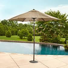 Sears Rectangular Patio Umbrella by Grand Resort Xs 1563u 9 Oak Hill Market Umbrella With Tilt