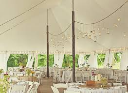 Diy Wedding Tent Decorations Mason Jar Lights Origami Cranes