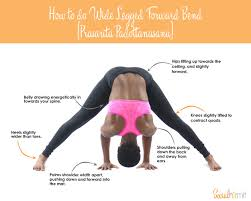 How To Do Wide Legged Forward Bend
