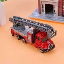 100 Mini Fire Truck Toy Alloy Engineering Car Educational Children Kid