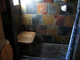 copper rust slate tile floor search bathroom guest