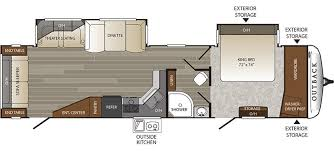 Open Range Rv Floor Plans by Outback