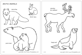 Christmas Printables Winter Animal Luxury Animals Coloring Pages