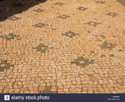 Details Of Mosaic Floors In Ancient Rome Italy