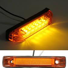 100 Truck Lite Cross Reference 1PC 6 LED Clearance Side Marker Light Indicator Lamp Trailer