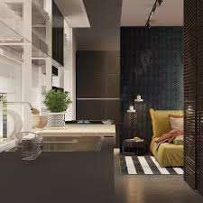 A Pair Of Dark Themed Homes With Sophisticated Accent Colors