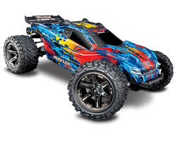 Rustler 4X4 VXL Brushless RTR 1/10 4WD Stadium Truck (Red) By ...