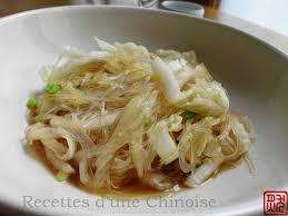 cuisiner le chou chinois cuit recettes d une chinoise chou chinois sauté aux vermicelles 白菜炒