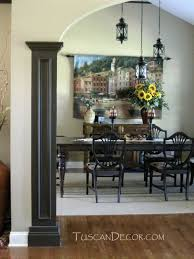 Tuscan Dining Room Photo In Las Vegas