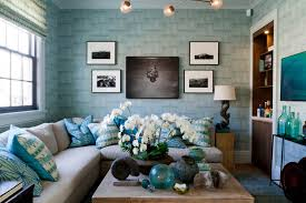 Teal Color Living Room Decor by Interior Inspiration Monet U0027s Water Lilies