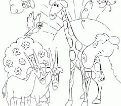 Bible Story Coloring Pages Creation For Preschoolers To Print