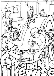 Love Thy Neighbor Coloring Page