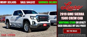 Laura Buick GMC Is A Collinsville Buick, GMC Dealer And A New Car ... 2015 Gmc Sierra 1500 For Sale Nationwide Autotrader Used Cars Plaistow Nh Trucks Leavitt Auto And Truck Custom Lifted For In Montclair Ca Geneva Motors Pascagoula Ms Midsouth 1995 Ford F 150 58 V8 1 Owner Clean 12 Ton Pickp Tuscany 1500s In Bakersfield Motor 1969 Hot Rod Network New Roads Vehicles Flatbed N Trailer Magazine Chevrolet Silverado Gets New Look 2019 And Lots Of Steel Lightduty Pickup Model Overview
