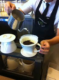 Apo Eagerly Discussed The Different Process In Preparing Starbucks Reserve Drinks Here I Encountered New Terms Such As Pour Over And Slow That Are