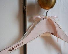 Items Similar To Name Wedding Hanger Custom Clothes Rustic Vintage Shabby Chic Dress On Etsy