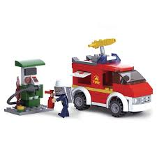 100 Lego Fire Truck Games Amazoncom SlubanKids Creative Building Blocks Set Imaginative