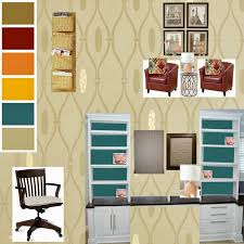 Southern Color New Interior Design Project Office Makeover The Inspiration For This Room Came From Royal