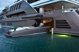 The Most Spectacular Yacht in the World with Indoor Pool Aquarium