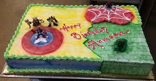 Marvels Avengers Cake Kit Caption