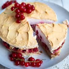 low carb keto johannisbeeren baiser torte torten
