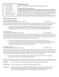 Entry Level Police Officer Resume Examples 49 Awesome A Good For Law Enforcement Job In