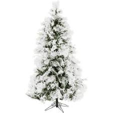 Frosted 65 Snow Fir Artificial Christmas Tree