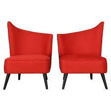 Top Modern Red Accent Chairs For Living Room Residence Accent Chairs Armchairs Swivel More Lowes Canada Brightly Colored Best Home Design 2018 Skyline Fniture Swoop Traditional Arm Chair Polyester Armless Amazoncom Changjie Cushioned Linen Settee Loveseat Sofa Powell Diana In Black White Floral Red Barrel Studio Damann Armchair Reviews Wayfair Aico Beverly Blvd Collection Sit Sleep Walkers Cimarosse Gray Shop 2pcs Set Dark Velvet Free Upholstered Pattern
