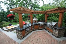 Pergola Over An Outdoor Kitchen By The Pattie Group. | Backyard ... Backyard Eertainment Ideas Design And Photo With Appealing Covered Outdoor Area Designs Transform Your Backyard Into An Outdoor Oasis With Liquid Assets Contemporary 5 Br Beach Villa Pool Home W Vrbo Articles Small Tag Kallies Korner Fire Pit Back Porch E Backyards 3 Ways To Optimize Patio For Yard Inspiration Images On Living Room Incredible Plus A Budget 2017 Bamboo Pictures Excellent Wedding