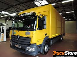 100 Used Box Trucks MERCEDESBENZ ATEGO 1224 L 4X2 Closed Box Trucks For Sale From