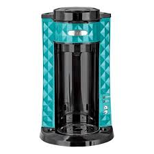 Bella Diamonds Collection Single Serve Teal Coffee Maker