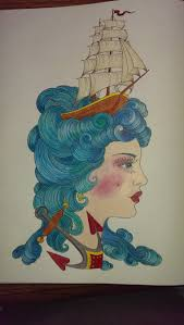 Come Sail Your Ships Around Me Prisma Pencils In Color Odyssey By Chris Garver