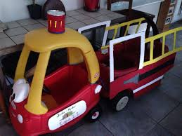 100 Fire Truck Cozy Coupe Engine I Attached A Cozy Coupe Car To A Red Wagon Added