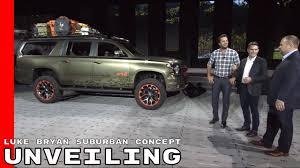 99 Luke Bryan Truck Chevy Suburban Concept Unveiling YouTube