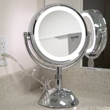 mirrors conair lighted makeup mirror with outlet floxite vanity