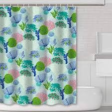 joocar design duschvorhang flamingo serie sets tropische blumen wasserdichter stoffstoff badezimmer deko set mit haken polyester stoff c11