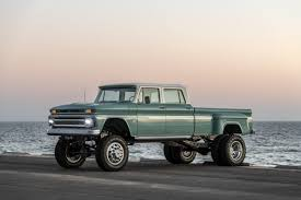 100 Custom Pickup Trucks This Vintage Chevy Truck Is A 6Wheeled
