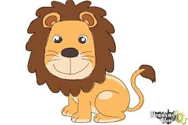 Coloring Page Fancy Lion Simple Drawing Clipart 1jpg Coloring