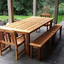 Modern Outdoor Ideas Thumbnail Size Langley Dining Table Set Adirondack Chairs Seattle With Umbrella Hole