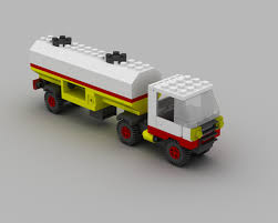 Image Viewer - Renders Lego 6696 Fuel Tanker.jpg