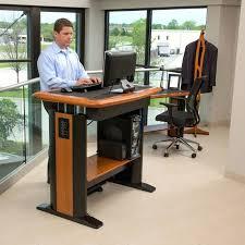 Ergotron Workfit D Sit Stand Desk by Desk Stand Up Computer Rustic Standing Walmart Conversion Kit Ikea