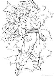 Printable Coloring Pages Gt Dragon Ball Z