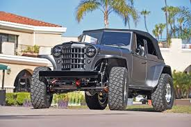 Roaring 502 V-8 Resto-mod 1950 Willys Jeepster 1950 Willys Jeep For Sale Classiccarscom Cc1110885 Pickup Truck History Go Beyond The Wrangler Jake Rodriguez Kaiser Blog 1951 In 1950s Station Wagon Wikipedia Rebuild Truck Pinterest Trucks Classic 1956 Willysoverland 4791 Dyler Hot Rod Network About Cj2a Specs And Find Of Week Autotraderca Ted Tuerk