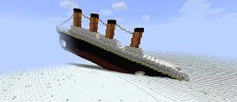 ship sinking in snow creative mode minecraft java edition