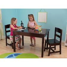 Kidkraft Star Childrens Table Chair Set by Lipper Childrens Rectangular Table And Chair Set Hayneedle