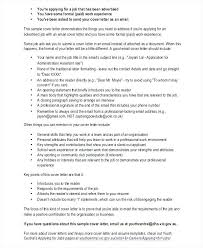 Email Resume Template Unique Cover Letter Free